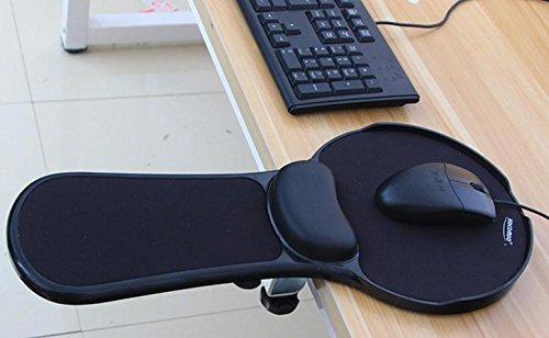 XL-5-180 gradi girevole antiscivolo computer mano polso tappetini per il mouse pad da polso , (Giorno Chair Pad)
