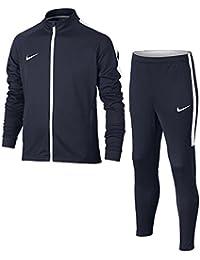 Nike Nk Dry Acdmy Trk Suit K Chándal, Niños, Negro (Obsidian)/Blanco, XS