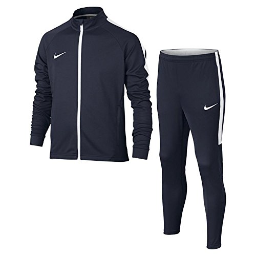 Nike Dry Fit Academy, Chándal Infantil, Azul (Obsidian/Obsidian/White/White), M