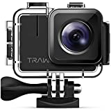 【Nuova Versione-50FPS】APEMAN Trawo Action Cam Ultra HD 4K WiFi 20MP Avanzato...