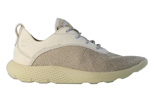 Timberland Flyroam Leather And Fabric Oxford Uomo Beige