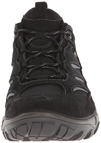 ECCO - Xpedition Ii Black/Black Scar/O.sue/Text, Stivali Uomo Nero (Schwarz (BLACK/BLACK))