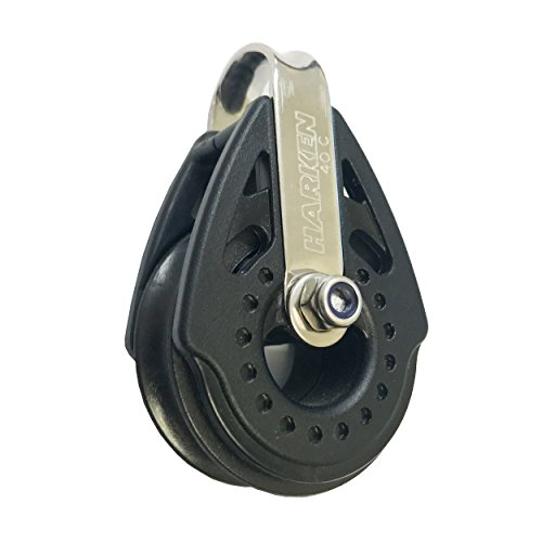 Harken 2650 40mm Fixed Carbo Block - Removable Strap