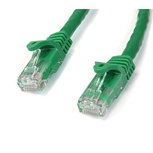 STARTECH.COM N6PATCH25GN - 25FT Green SNAGLESS CAT6 UTP - Patch Cable - ETL Verified UK - 25' Snagless Patch