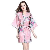 Brilliant Rose Robe For Women