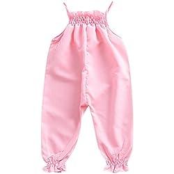 Amlaiworld Ropa bebé Verano Mono de Mameluco de Correa de bebé niñas Niños pequeños Pantalones Harem Ropa De Verano