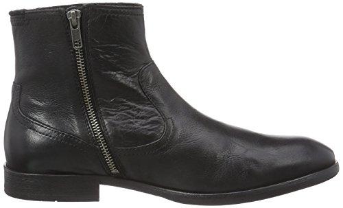 H Shoes PLANT, Bottes Chelsea courtes, doublure froide homme Noir - Noir