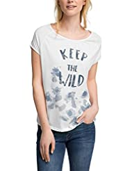 edc by Esprit Mit Print - Camiseta Mujer