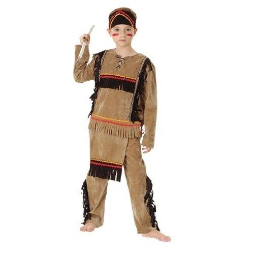 dischen Kostüm, Mittel (Indianer Kostüm Männlich)