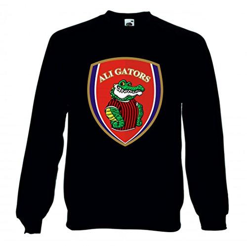 Druckerlebnis24 Sweatshirt Alligator- Abzeichen- Patch- ANMELDEN- Gator- ICON- Emblam- Logo- Tierwelt- Tier- REPTIL- Team- KONZEPT für Herren- Damen- Kinder Alligator-sweatshirt