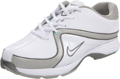 Nike Lunar Brassie 482101-100 Weiß Größe 38 US 7 UK 4,5 24 cm Golfschuhe (4 1/2 Weiß Ferse)