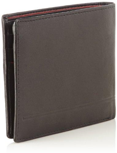 OTTO KERN Wallet Horizontal Ow-4 Herren Geldbörsen 24X9X1 cm (B X H X T) Mehrfarbig (Schwarz/rot)
