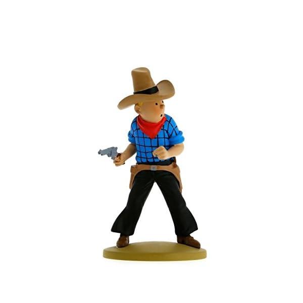 Moulinsart Figura de colección Tintín Cowboy 11,5cm 42191 (2015) 1