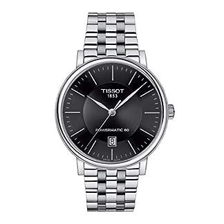 Tissot Reloj Analógico para Hombre de Cuarzo con Correa en Acero Inoxidable T1224071105100
