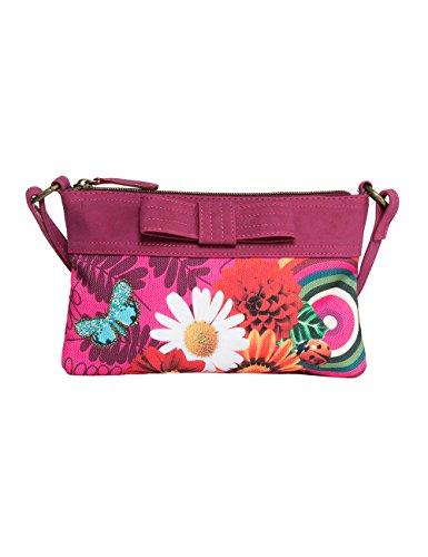 Desigual Mädchen Pomo Mädchenhandtasche, 15 EU Pink (3022)