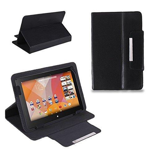 Schutz Tasche f Medion Lifetab S7322 Junior Tablet Hülle Schutzhülle Cover Case , Farben:Schwarz