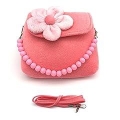 Idea Regalo - Aisprts Piccole ragazze borsa bambini borsa monospalla duplice scopo per i più piccoli e bambini rosa