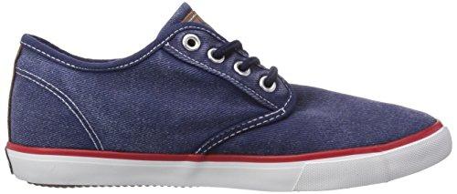 Dockers by Gerli 36vc602-790600, Baskets Basses mixte enfant Bleu - Blau (blau 600)