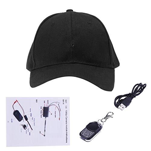 Heaviesk Kamera-Hut des verdeckten Videorecorders der Kamera-1080P drahtlose Kontrollkappe Video-Recorder-Sicherheitsüberwachung -