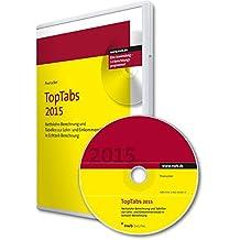 TopTabs 2015, CD-ROM Nettolohn-Berechnung und Tabellen zur  Lohn- und Einkommensteuer in Echtzeit-Berechnung. Für Windows Vista, Windows 7 oder 8