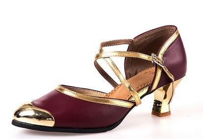 Latin Schuhe weibliche Winter Red