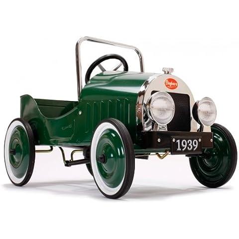 Baghera - Coche a pedales clásica, color verde (1161939)