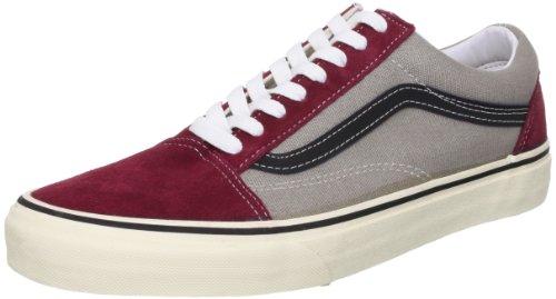 Vans U Vieux Skool (2 Tons) Tawny, Sneaker Unisexe Adulte Rosso (rot / Grau ((2 Tons) Tawnyport / Gel Gris))