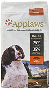 Applaws Dry Dog Food Adult Chicken Small & Medium Breed, 2kg