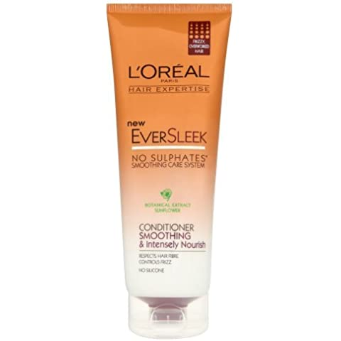 L'Oreal Paris Hair Expertise EverSleek Smoothing and Intensely Nourish Conditioner (Rich Cura Conditioner)
