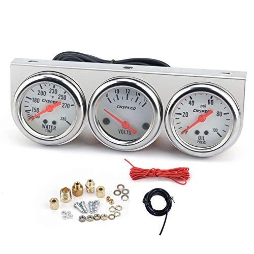Fannty Voltímetro medidor temperatura agua Fahrenheit