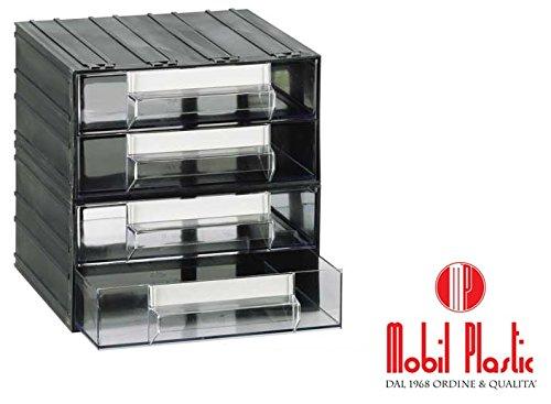 Cassettiere Mobil Plastic.Cassettiere Mobil Plastic T43 Corpo Composto Da 4 Cassetti