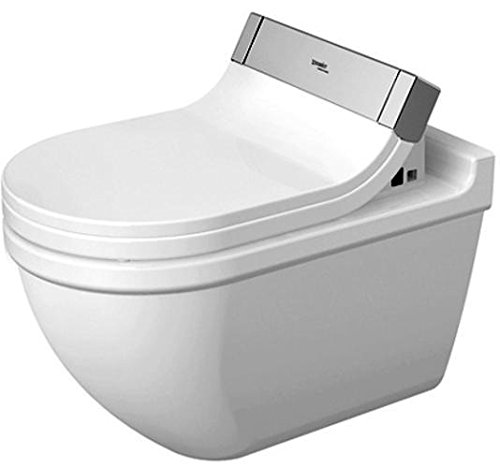 Preisvergleich Produktbild Duravit Wand WC (ohne Deckel) Starck 3 620 mm, Tiefspüler für SensoWash mit verdeckten Anschlüßen, w