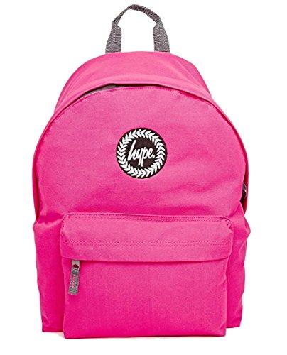 Hype Mochila para escuela–muchos estilos, rosa (rosa) - plain fuscia
