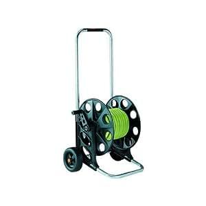 Claber 77315-108994Fullkit-Kit Chariot enrouleur de tube d'arrosage avec tube20m