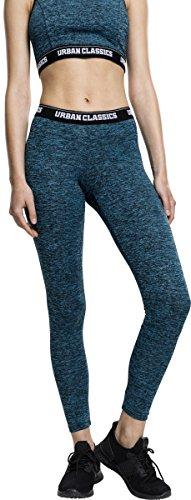 Urban Classics Ladies Active Melange Logo Leggings
