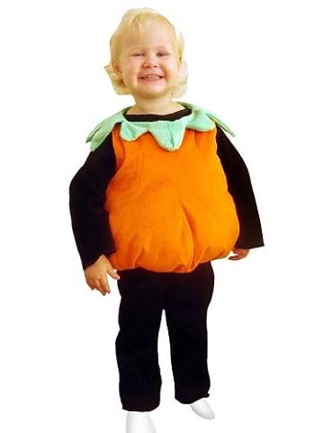 J12 Kürbis-Kostüm Gr. 80-86 Kürbiskostüm Halloween Kinderkostüm