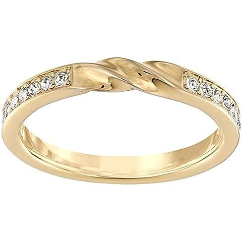 Swarovski señorías-anillo rhodiniert cristal transparente - 513966