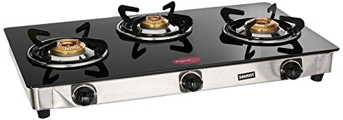 Pigeon Blackline Smart 3 Burner Gas Stove