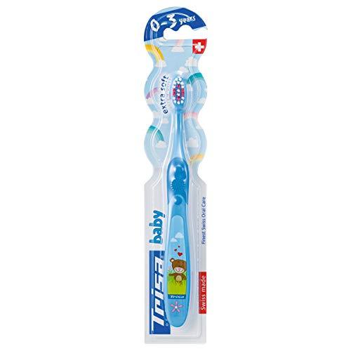 TRISA Baby Zahnbürste, blau