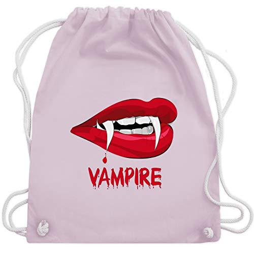Tasche Kostüm Von Blut - Halloween - Vampire Blut - Unisize - Pastell Rosa - WM110 - Turnbeutel & Gym Bag