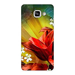 Delighted Beauty Flowers Print Back Case Cover for Galaxy A5 2016