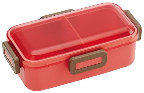 Forme de dôme Couvercle de 4 Lock Bento Lunch Box Rose saumon 530 ml