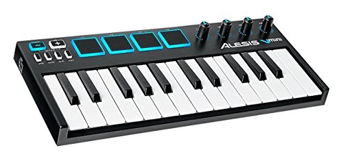 tes 25Tasten USB MIDI Produktions Keyboard Controller mit 4 pads, 4270° Potentiometer und Xpand!2 Virtual Instrument Software ()