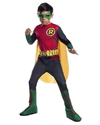 Robin Batman Costume Bambino