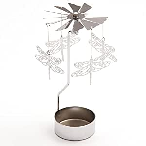 Dragonfly Design Metal Tealight Spinner Gifts, and, Cards Wedding, Gift, Idea Occasion, Gift, Idea by GiftRush