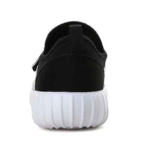 Laufschuhe Leichte Sneaker Damen Herren Fahren Schuhe Casual Sandalen Schwarz