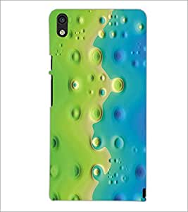 PrintDhaba Pattern D-5384 Back Case Cover for HUAWEI ASCEND P6 (Multi-Coloured)