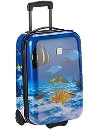 Saxoline Fish Tank Koffer, 55 cm, 29 Liter, Blau