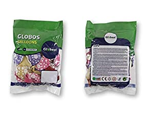 Globest- Globos de fiesta, Color rosa (Festival 50741)