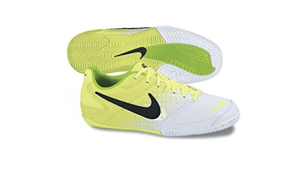 2057135e4 Nike 5 Elastico IC Indoor Soccer Shoes Youth - Volt White Black (13.5C)   Amazon.in  Shoes   Handbags
